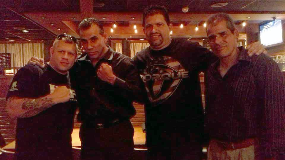 Paris Tssito Presidente de HOF House of Fame-Frank Morejon Presidente de Florida MMA Awards-Carlos Finales Fundador del JKB Y Ivan Ramos Maestro JKB- Sept-13-2014